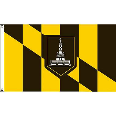 Baltimore 3'X5' Nylon Flag