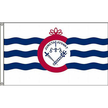 Cincinnati 3'X5' Nylon Flag