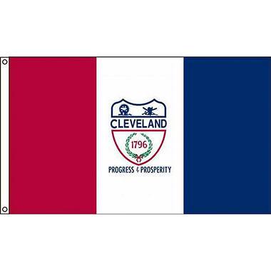 Cleveland 3'X5' Nylon Flag