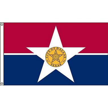 Dallas 3'X5' Nylon Flag