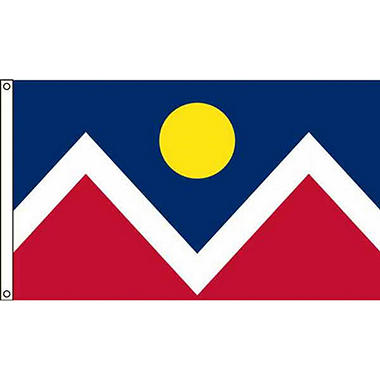 Denver 3'X5' Nylon Flag