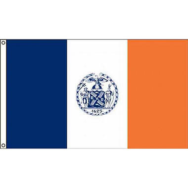 New York 3'X5' Nylon Flag