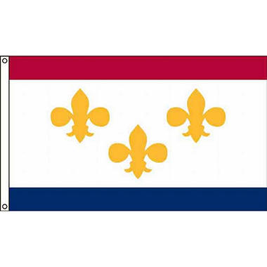 New Orleans 3'X5' Nylon Flag