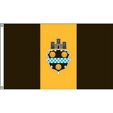 Pittsburgh 3'X5' Nylon Flag