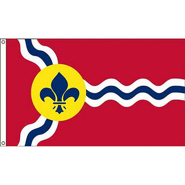 St Louis 3'X5' Nylon Flag