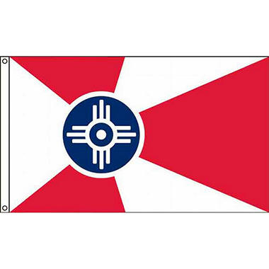 Wichita 3'X5' Nylon Flag