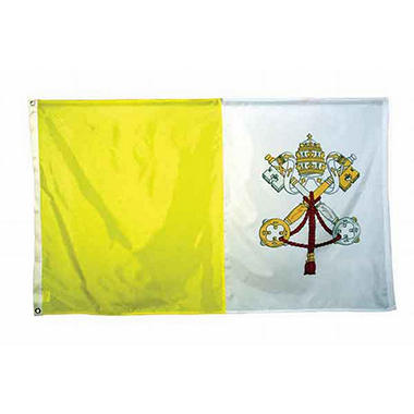 Papal 3'X5' Nylon Flag