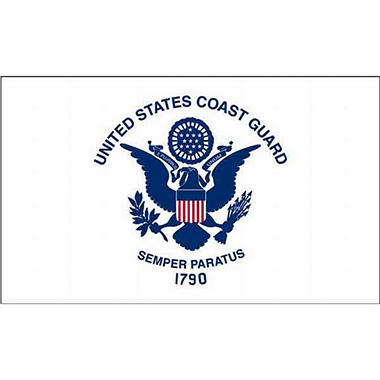 "Mini Coast Guard 4"" x 6"" Flag"