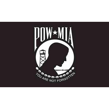"Mini POW/MIA 4"" x 6"" Flag"