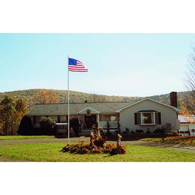 25' Memorial Flagpole