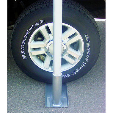 Flagpole Bracket Wheel Stand - Aluminum