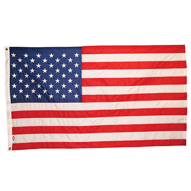 USA 10' x 19' Nylon Flag