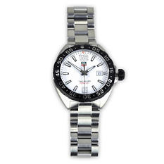 TAG Heuer White Formula 1 Watch
