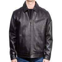 Emanuel Ungaro Men's Leather Jacket