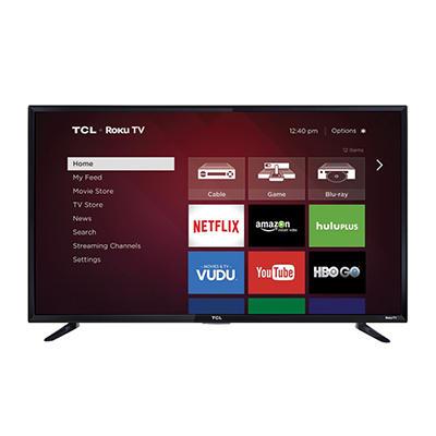"50"" TCL LED 1080p 120Hz HDTV"