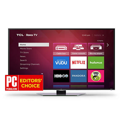 "40"" TCL Roku Smart 1080p 120Hz LED HDTV"