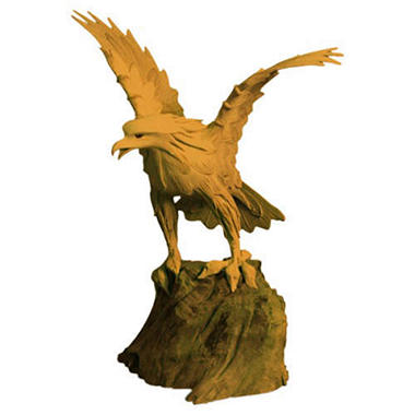 Handmade Eagle Teak Wood Carving