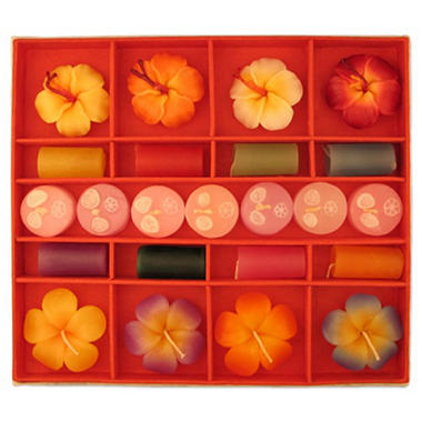Aroma Candle Set with Lotka Paper Gift Box