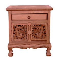 Chinese Dragon Storage Cabinet / Nightstand