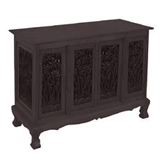 Bamboo Trees Storage Cabinet/Sideboard - Dark
