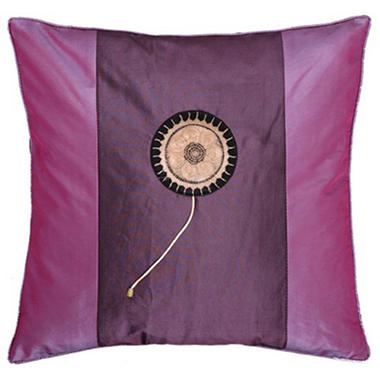 Purple and Violet Decorative Pillow Sham