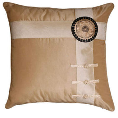Decorative Sunflower Tan & Beige Pillow Sham