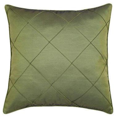 Decorative Olive Green Diamond Design Pillow Sham
