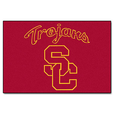 "NCAA Southern California Starter Rug - 19"" x 30"""