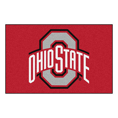 NCAA Ohio State Starter Rug - 19