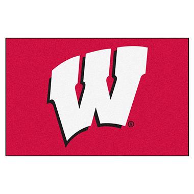 NCAA Wisconsin Starter Rug - 19