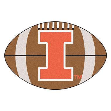 NCAA - University of Illinois Football Mat