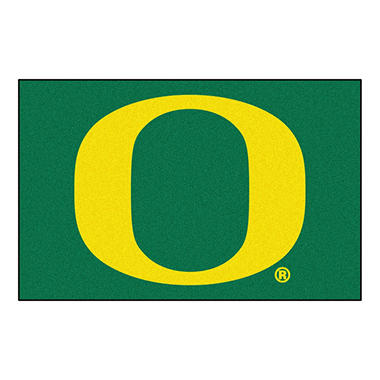 NCAA Oregon Starter Rug - 19