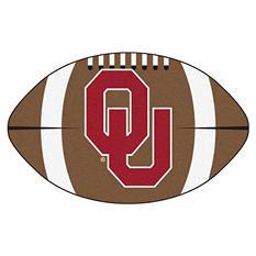 """NCAA Oklahoma Football Rug - 22"""" x 35"""""""
