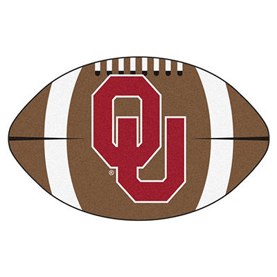 "NCAA Oklahoma Football Rug - 22"" x 35"""