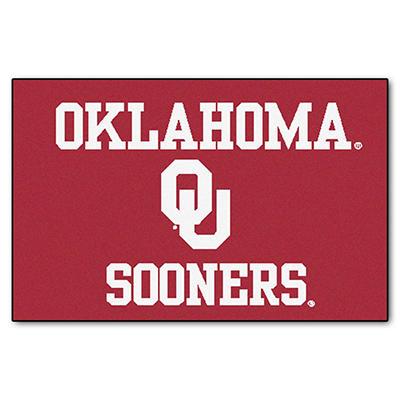 "NCAA Oklahoma Starter Rug - 19"" x 30"""