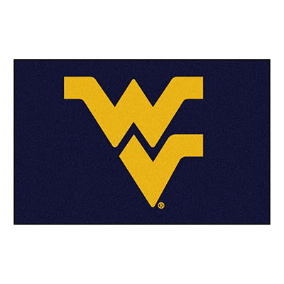 "NCAA West Virginia Starter Rug - 19"" x 30"""