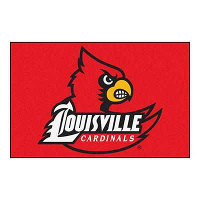 """NCAA Louisville Starter Rug - 19"""" x 30"""""""