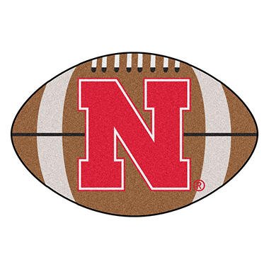 NCAA - University of Nebraska Football Mat