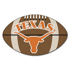 "NCAA Texas Football Rug- 22"" x 35"""