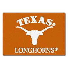 """NCAA Texas Starter Rug - 19"""" x 30"""""""