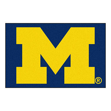 NCAA Michigan Starter Rug - 19