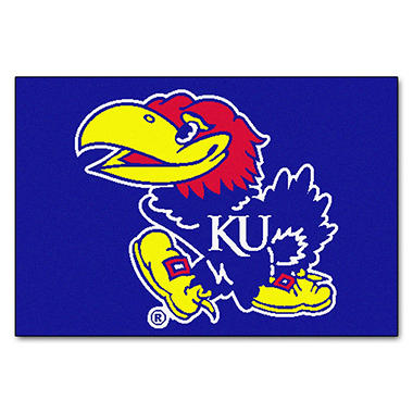 NCAA - University of Kansas Starter Mat