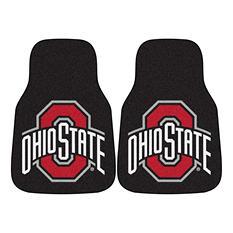 NCAA - Ohio State University 2-pc Carpet Car Mat Set