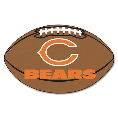 "NFL Chicago Bears Football Rug - 22"" x 35"""