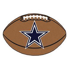 "NFL Dallas Cowboys Football Rug - 22"" x 35"""