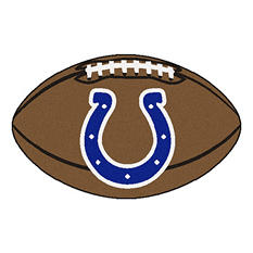 "NFL Indianapolis Colts Football Rug - 22"" x 35"""