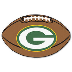 "NFL Green Bay Packers Football Rug - 22"" x 35"""