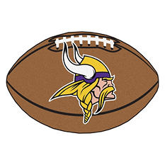 "NFL Minnesota Vikings Football Rug - 22"" x 35"""