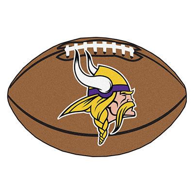 """NFL Minnesota Vikings Football Rug - 22"""" x 35"""""""