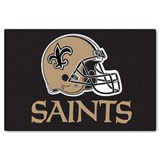 """NFL New Orleans Saints Starter Rug - 19"""" x 30"""""""